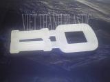 Khóa nhựa trắng -2